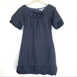 Rebecca Taylor Navy Blue Holiday Shift Dress